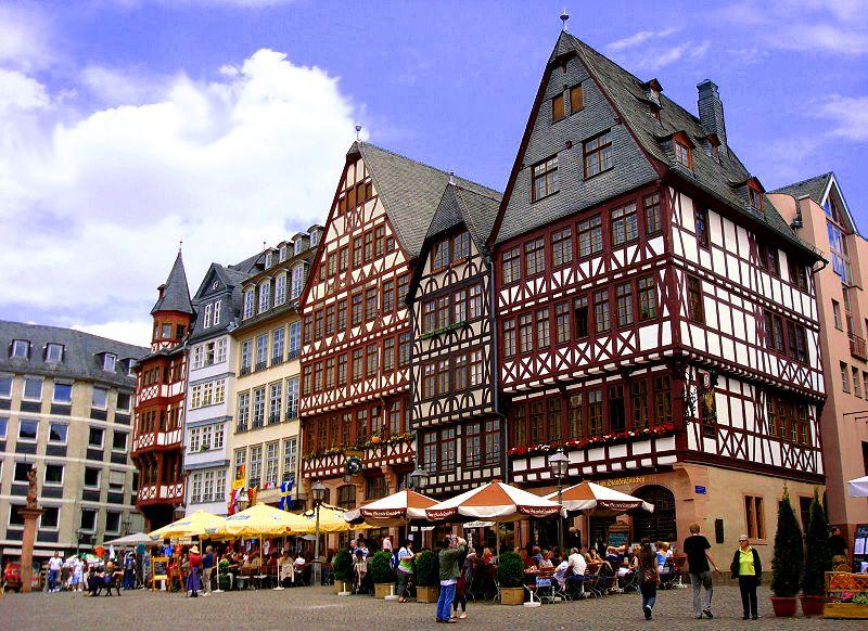 Frankfurt old town Germany