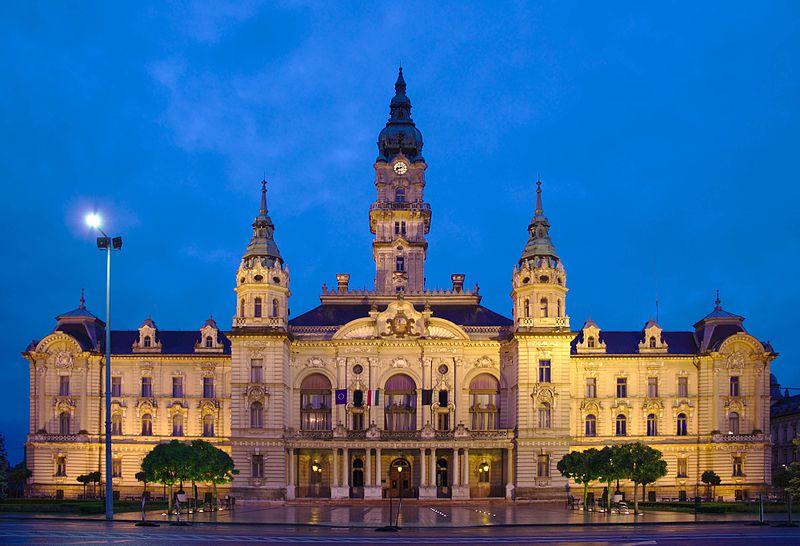 Gyor town hall Budapest