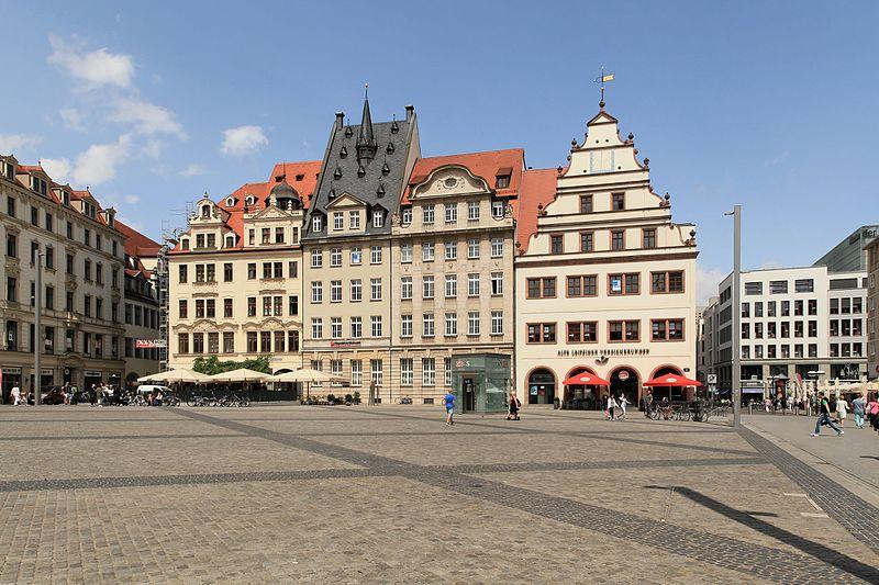 Leipzig Markt Germany