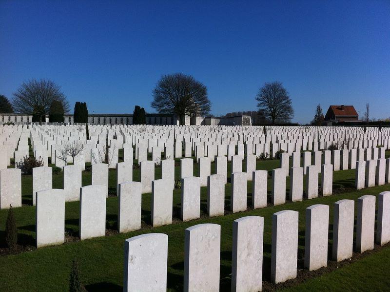 Battlefields of Flanders Belgium