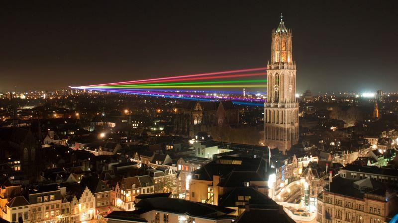 Dom Tower in Utrecht Netherlands