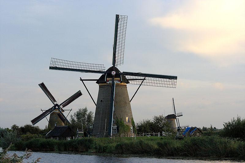 Kinderdijk Netherland
