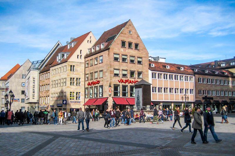 Nuremberg in munich