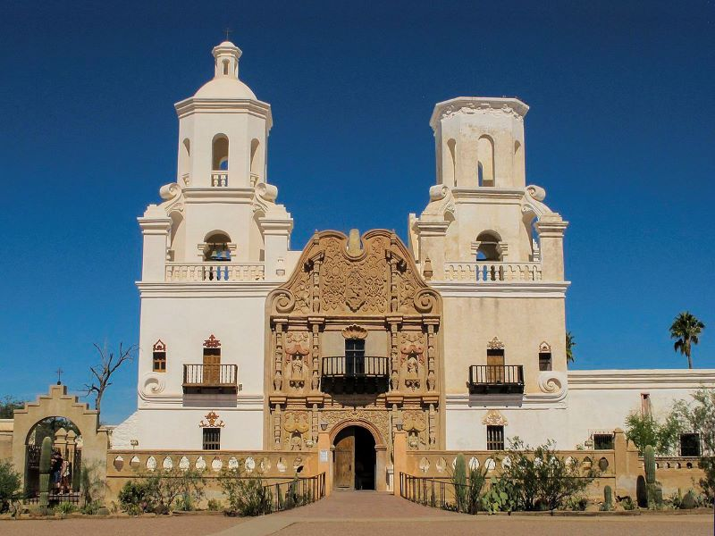 Tombstone Arizona and San Xavier Mission