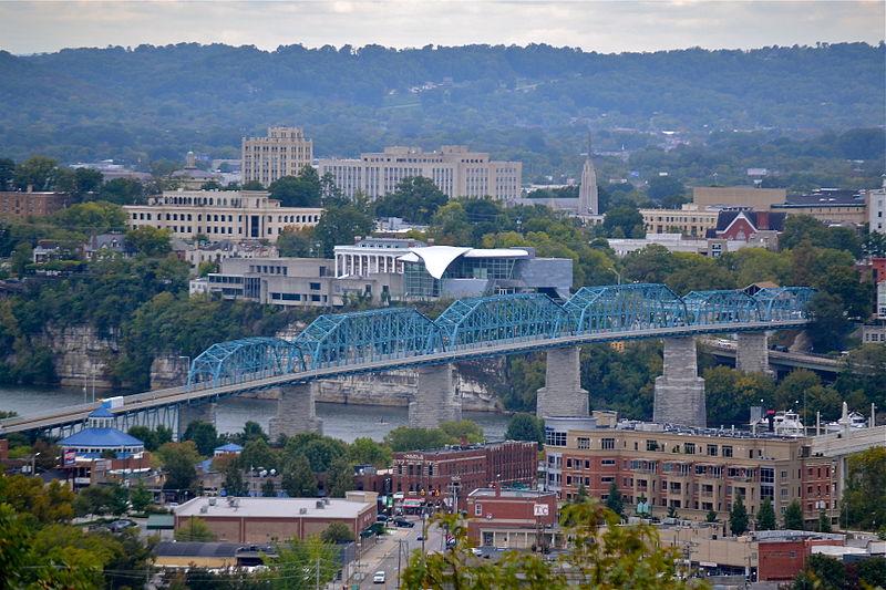 Chattanooga Tennessee Skyline